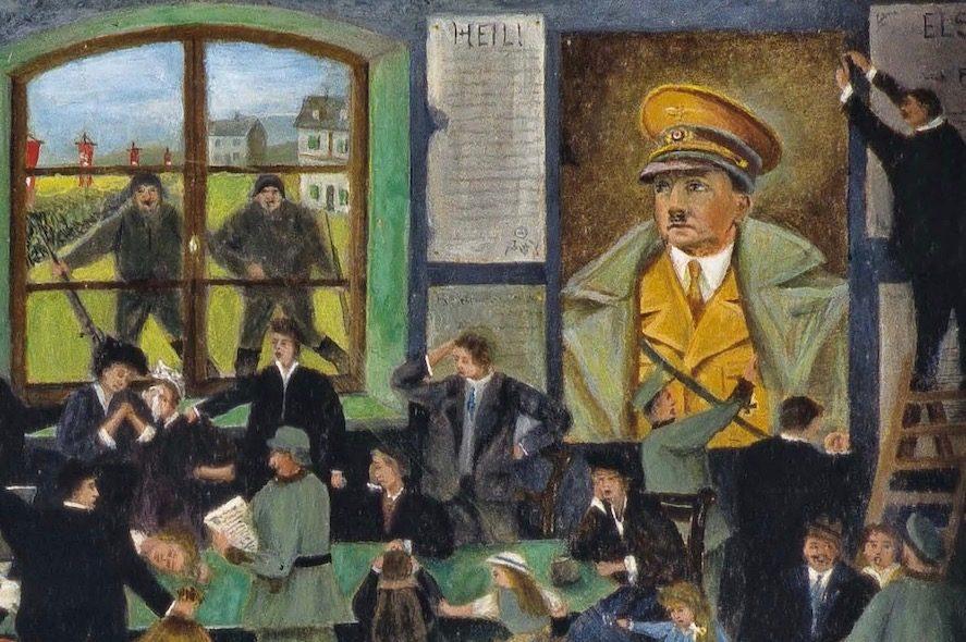 Joseph Steib La Resistance Par La Peinture Eva Byele